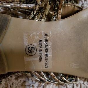 Soda Shoes - Soda Strappy Sandals